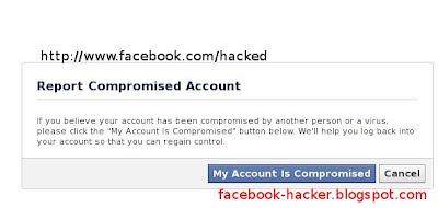 Facebook saya dihack