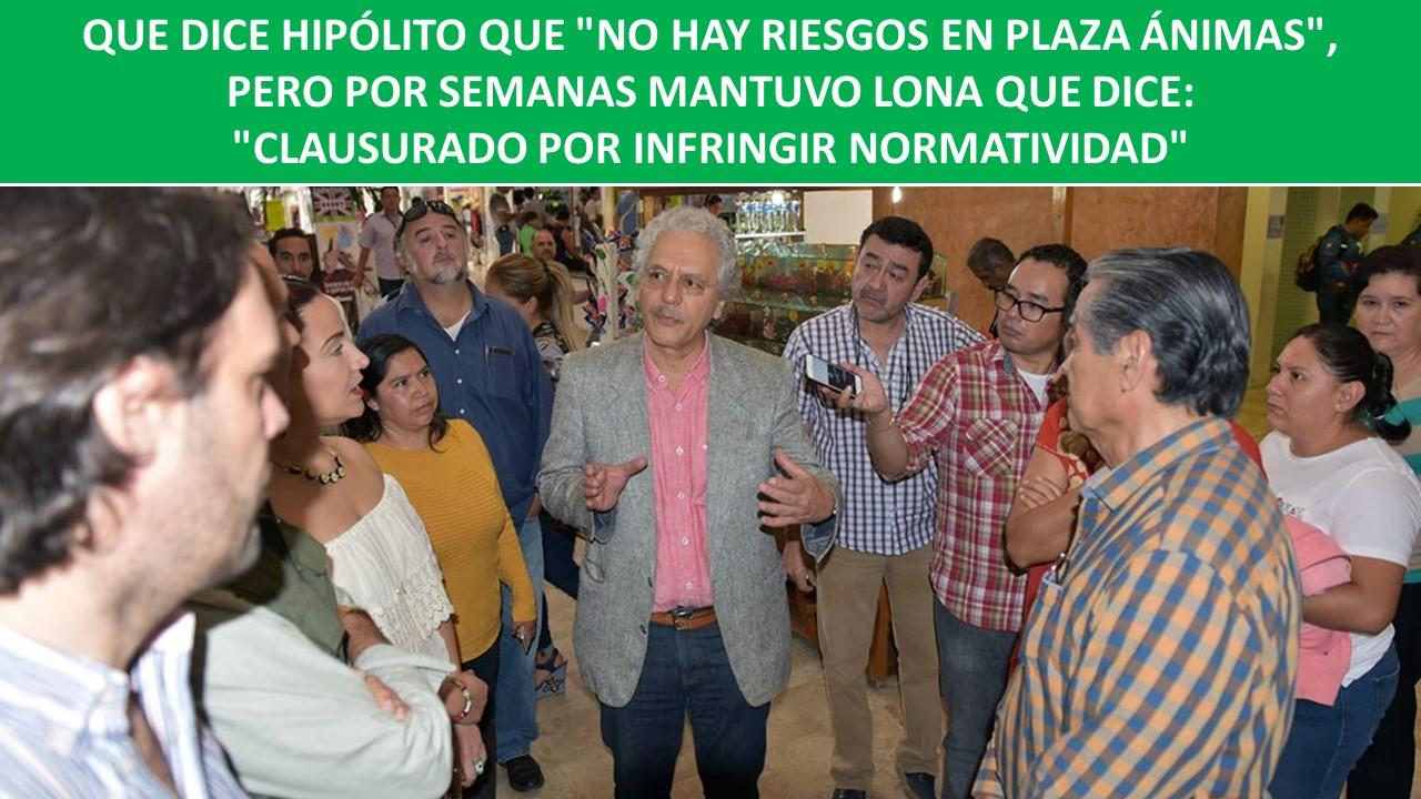 """""""CLAUSURADO POR INFRINGIR NORMATIVIDAD"""""""