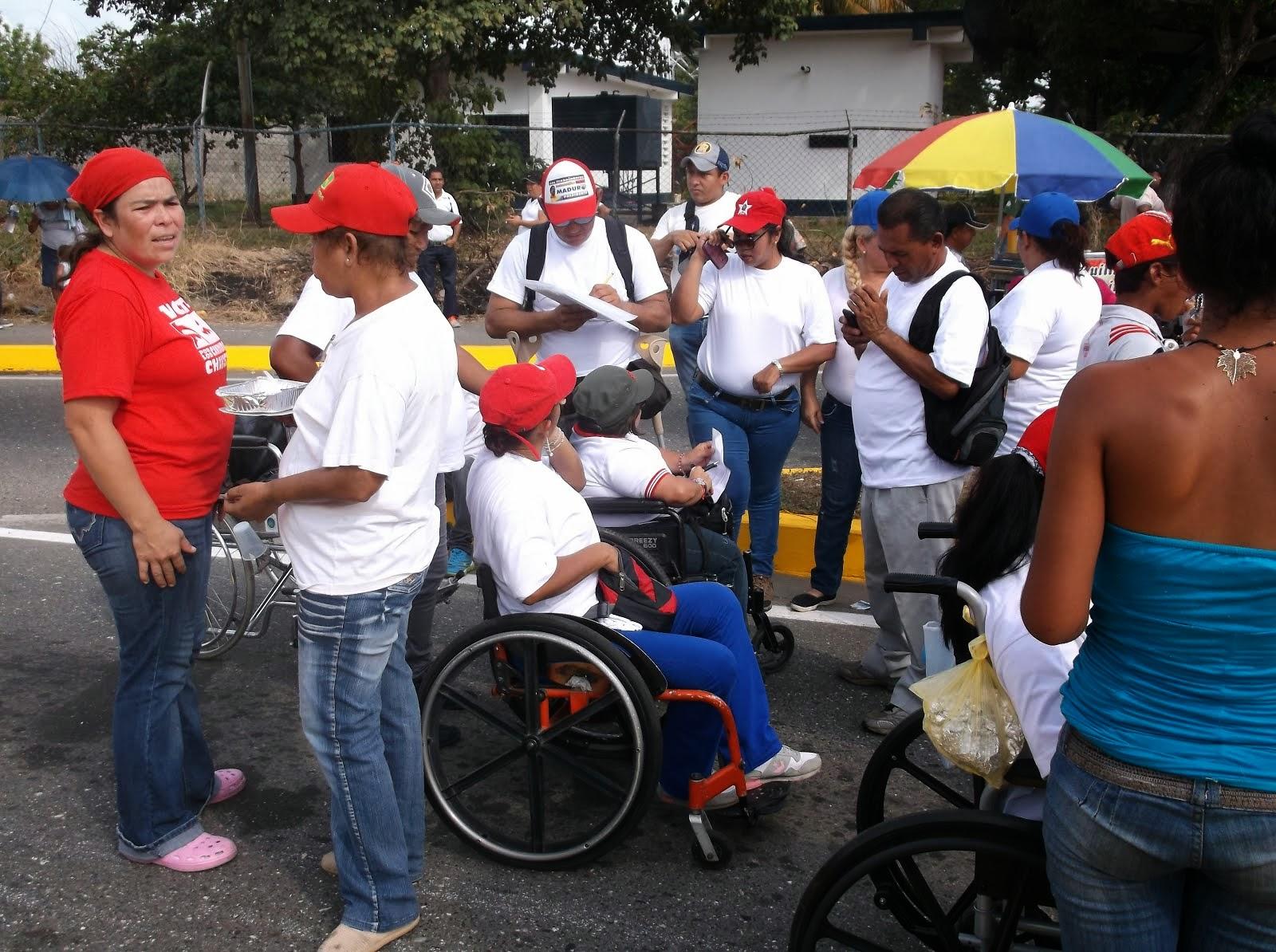 COLECTIVO DEPERSONAS CON DISCAPACIDAD ACARIGUA ARAURE
