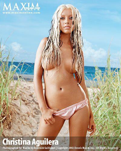 christina aguilera nude sexy pics