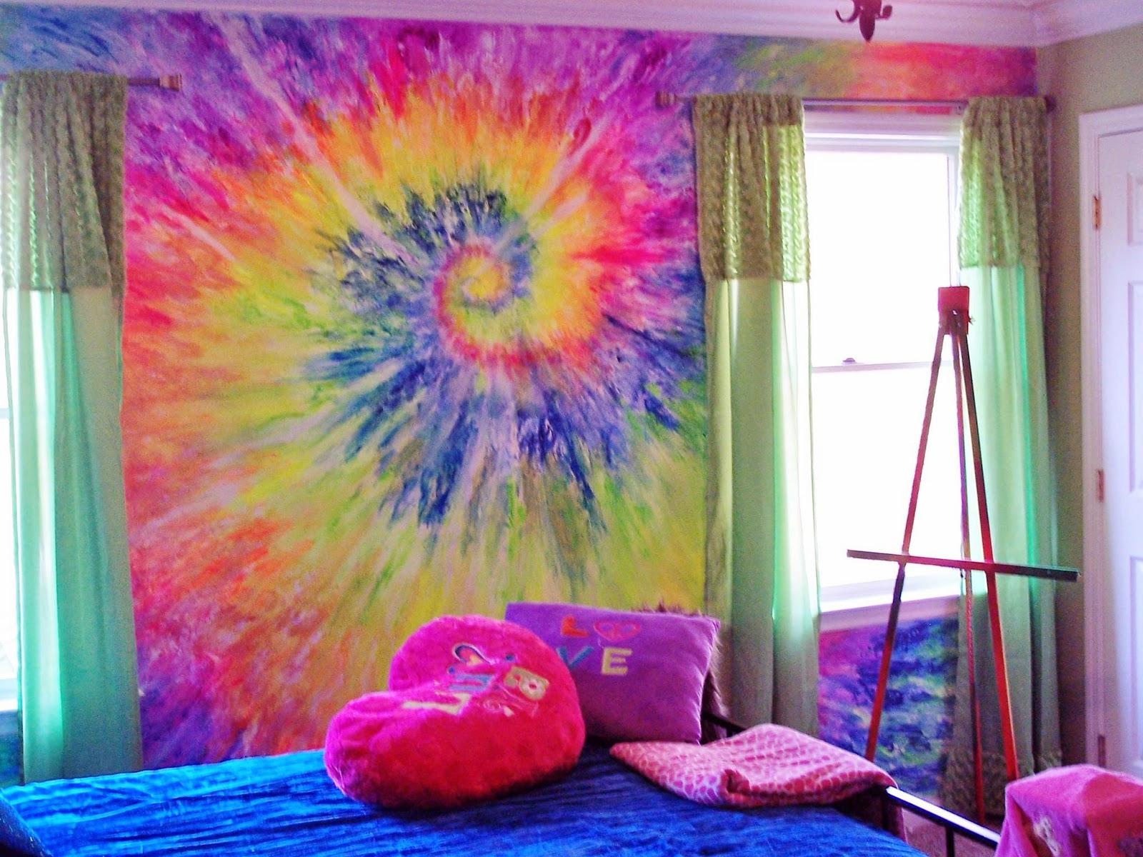 Ordinaire Tie Dye Wall