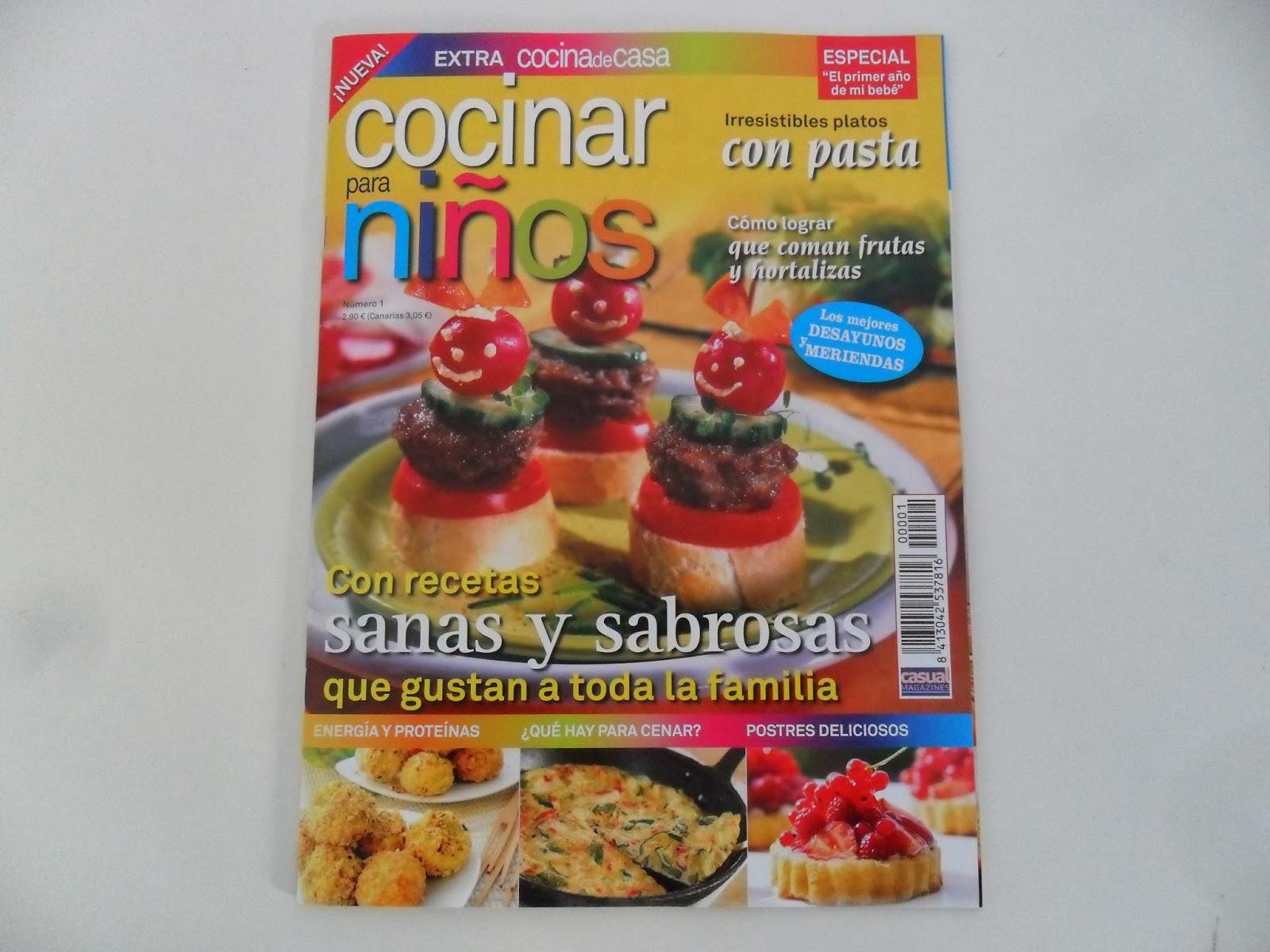 Materiales para educaci n infantil cocinar para ni os for Cocinar para 8