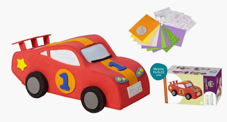 fofuchas kit creativo coche