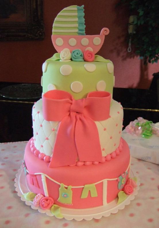 Love Baby Shower Cake