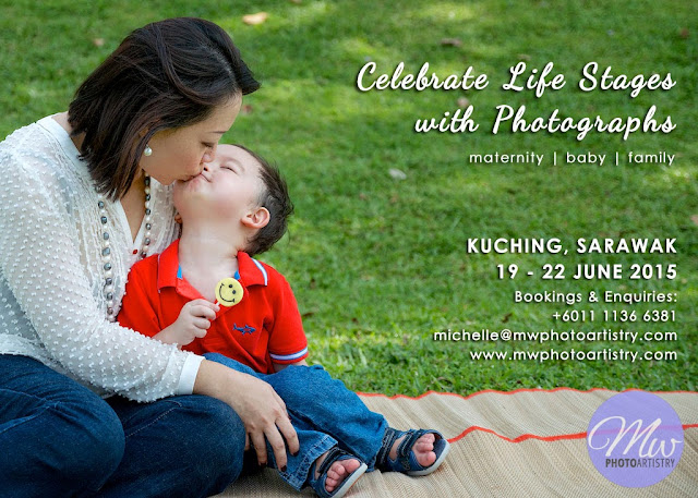Kuching Maternity Baby Family Photographer Photo