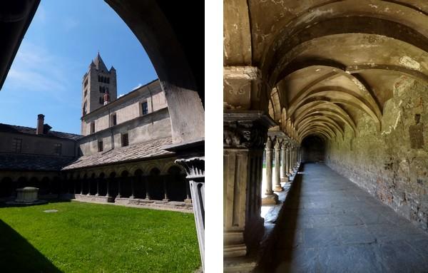 Aoste Aosta Italie sant'orso église cloître