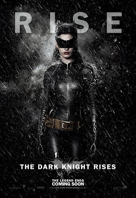 Anne Hathaway as Catwoman poster #1 from The Dark Knight Rises