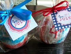 4th of July Candy Apples