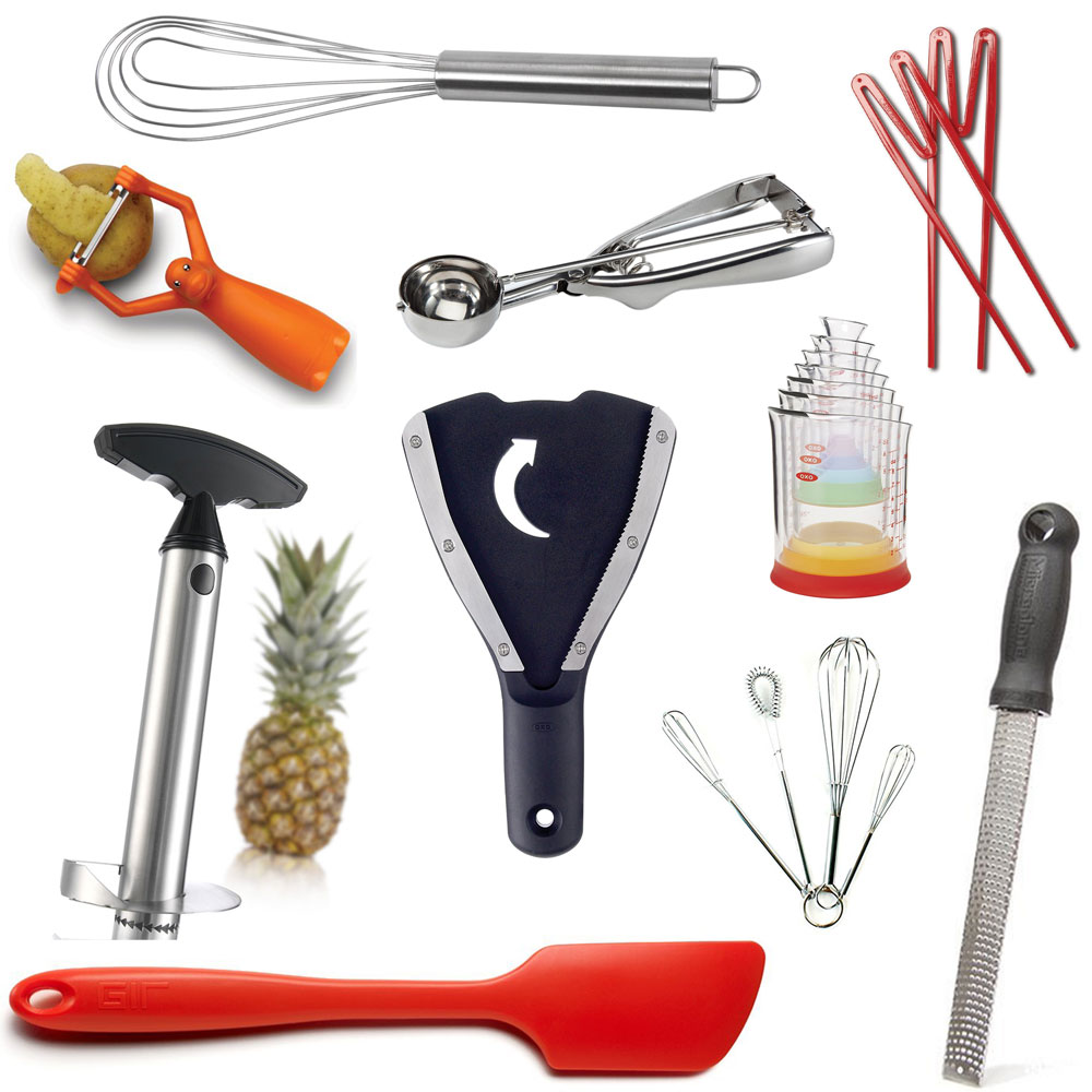 Stocking Stuffer Gift Ideas - must-have and fun kitchen and food related gift guide ranging from $3 - $30