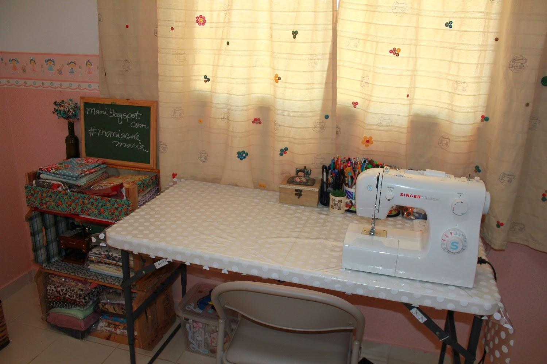 Manias de maria meu ateli meu sonho - Mesas para costura ...