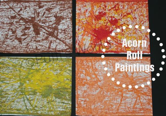 Acorn Roll Paintings