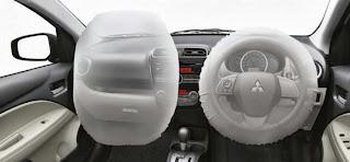 airbag mitsubishi mirage