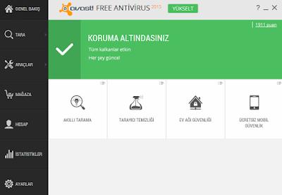 Avast Free Antivirüs