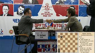 Echecs à Kazan : l'Israélien Boris Gelfand annule face à Alexander Grischuk dans la partie 2