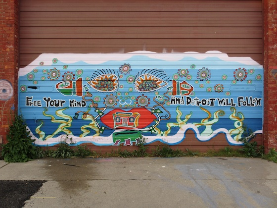 Mural in Detroit