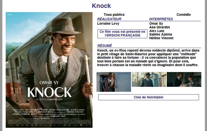 KNOCK 0