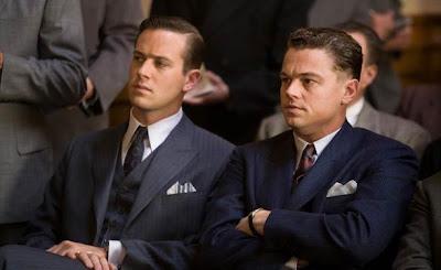 J. Edgar Hoover y su ayudante Clyde, o lo que es lo mismo Leonardo DiCaprio y Armie Hammer