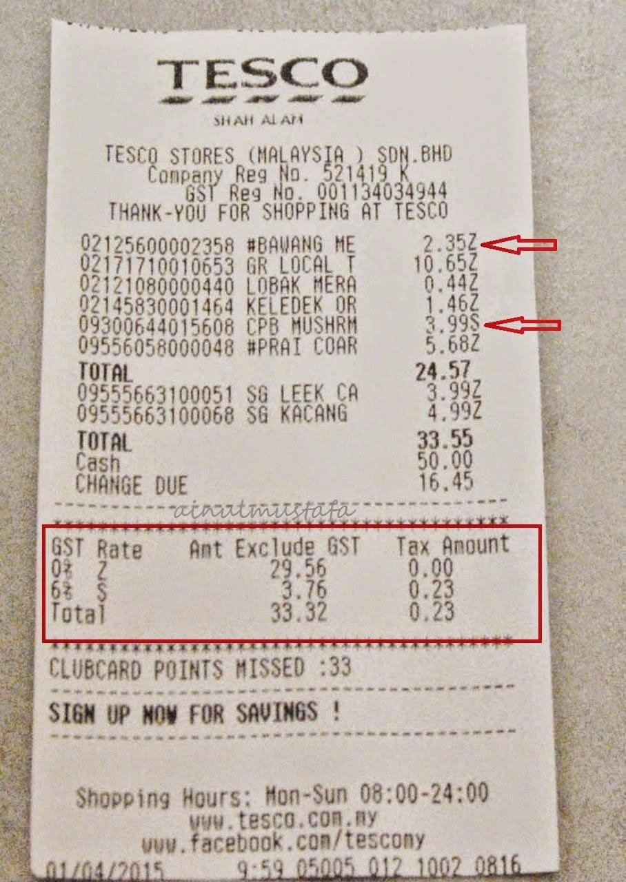 Kesan GST Kurangkan perbelanjaan atau Menambah pendapatan