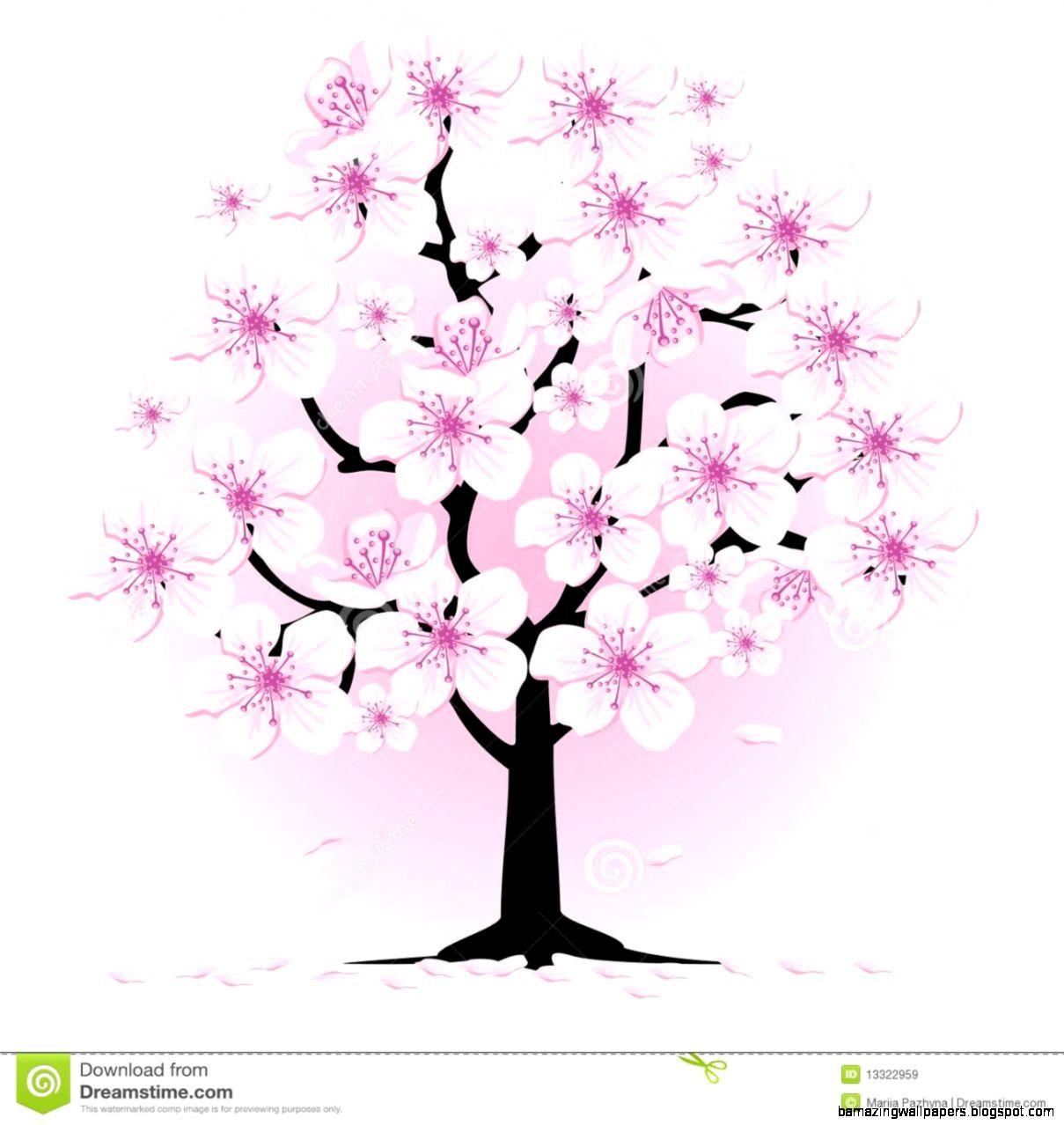 Blossom Tree Clipart   Clipart Kid
