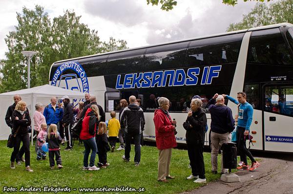 Fotomasen: Leksands IF i Avesta...