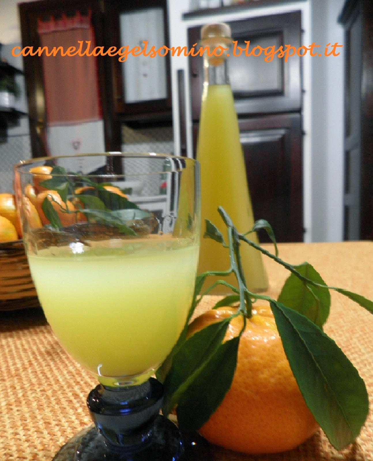 liquore ai mandarini