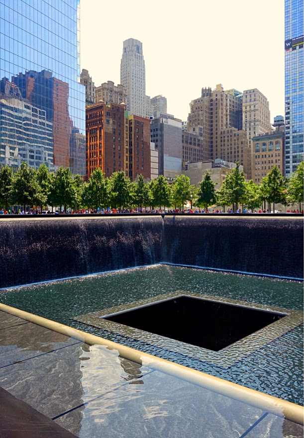 Reflecting Pools at Ground Zero, NYC