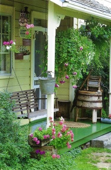 Moois en liefs veranda Country style verandahs