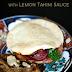 Pita broodjes met Vegetarische Shoarma en Citroen Tahini saus