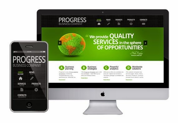 zProgress Company HTML5 Template