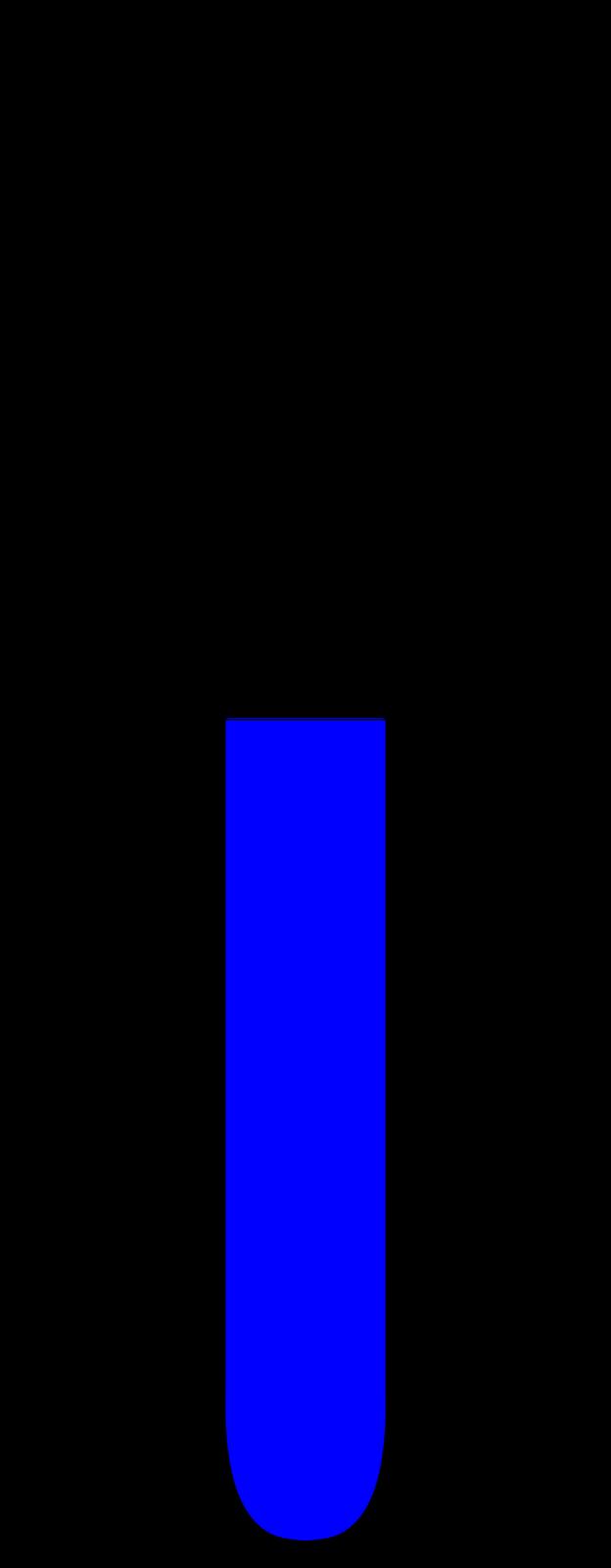 dr bodwin s general chemistry blog aluminum hcl experiment figure 1 a half full test tube