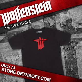 wolfenstein new order t shirt Wolfenstein: The New Order   Official T Shirt Now Available For Pre Order