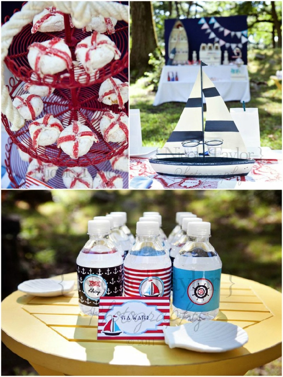 Filename: Nautical Party Printable Supplies Partyware Party Ideas 4th July  Red White Blue Party Decorations Sailing Sails Nautical Navy Desserts  Table01