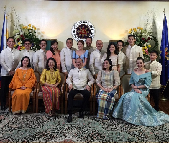 The Aquino Family at PNoy's last SONA