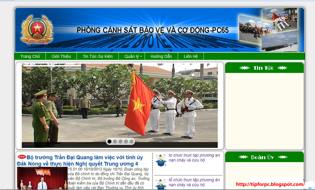 Source PHP Mã nguồn Website Quản lý Phòng Giáo vụ