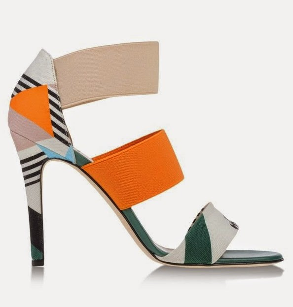 MSGM colorful strappy sandal