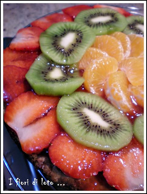 crostata alla frutta senza crema