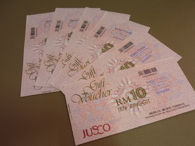 premium beautiful vouchers Jusco