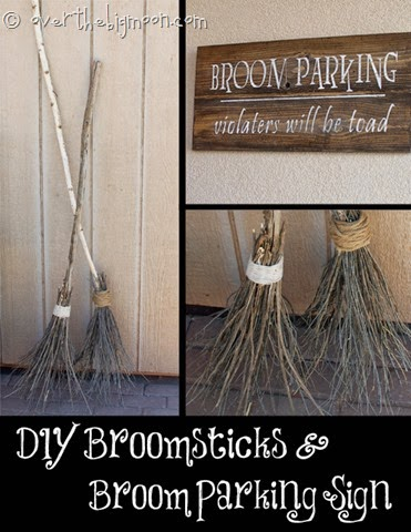 http://www.overthebigmoon.com/make-your-own-witch-brooms-and-halloween-signs/