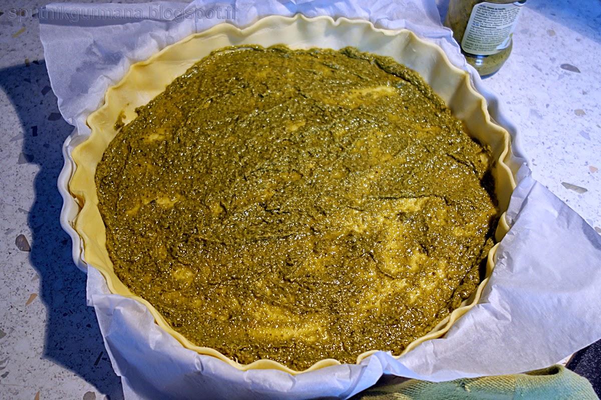 Тарт Весенний - приготовление