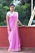 Swathi Dazzling in Pink saree-thumbnail-15