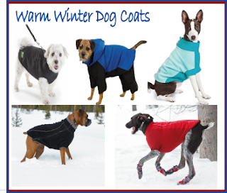 Warm Winter Fleece Dog Coats