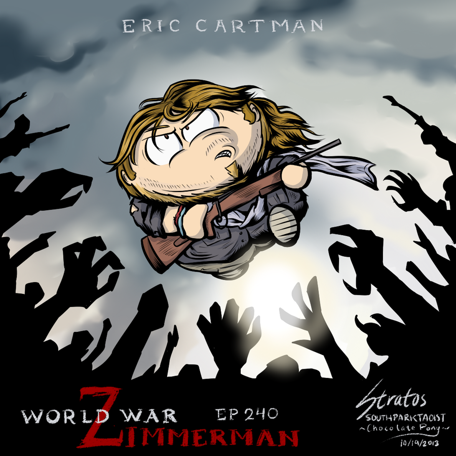 South Park - ep.240 (17x03) - World War Zimmerman (fanart by SouthParkTaoist)