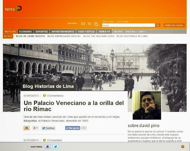 Historias de Lima - terra.com
