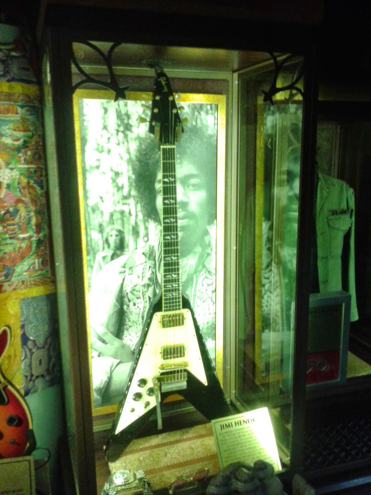 Jimi Hendrix Hard Rock Café Londres