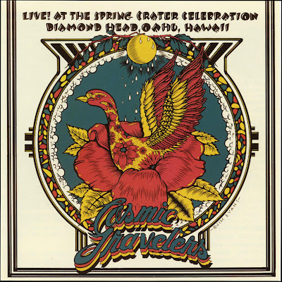 Cosmic Travelers - Live! At the Spring Crater Celebration Diamond Head, Oahu, Hawaii (1972 us psychedelic rock - vinyl rip - Wave)