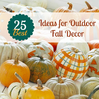 painting pumpkins for fall decor