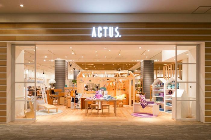 Actus store in Japan