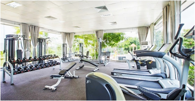 Phòng Gym tại Villa Park