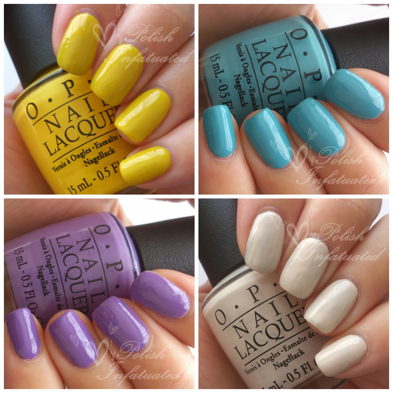 spring summer nail shades polish infatuated
