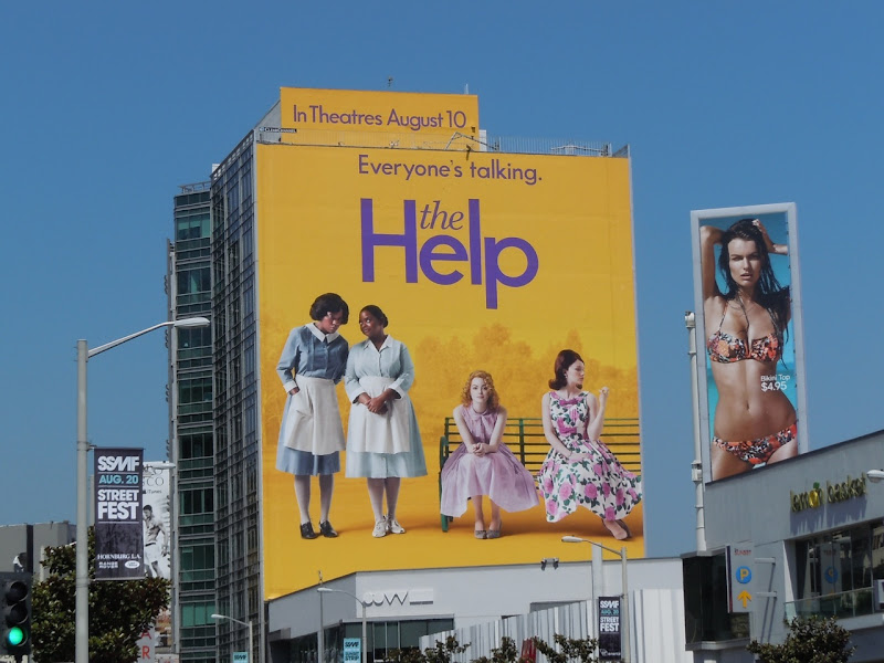 Giant The Help film billboard